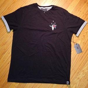 FREE PLANET Longhorn Cow Skull T-Shirt | NWT | L